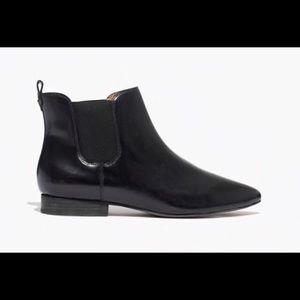 Madewell Nico true black boots size 7.5